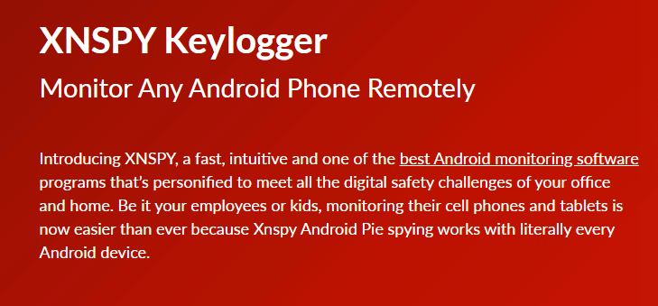 how to find keylogger on android